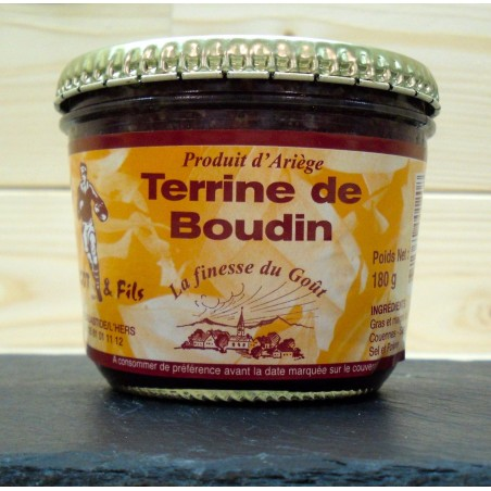 TERRINE DE BOUDIN