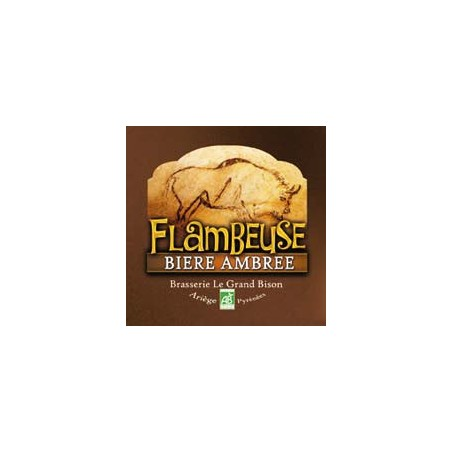 BIERE AMBREE FLAMBEUSE