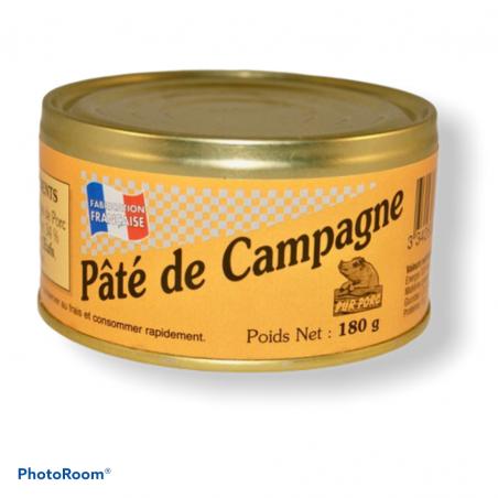 PATE DE CAMPAGNE 180g