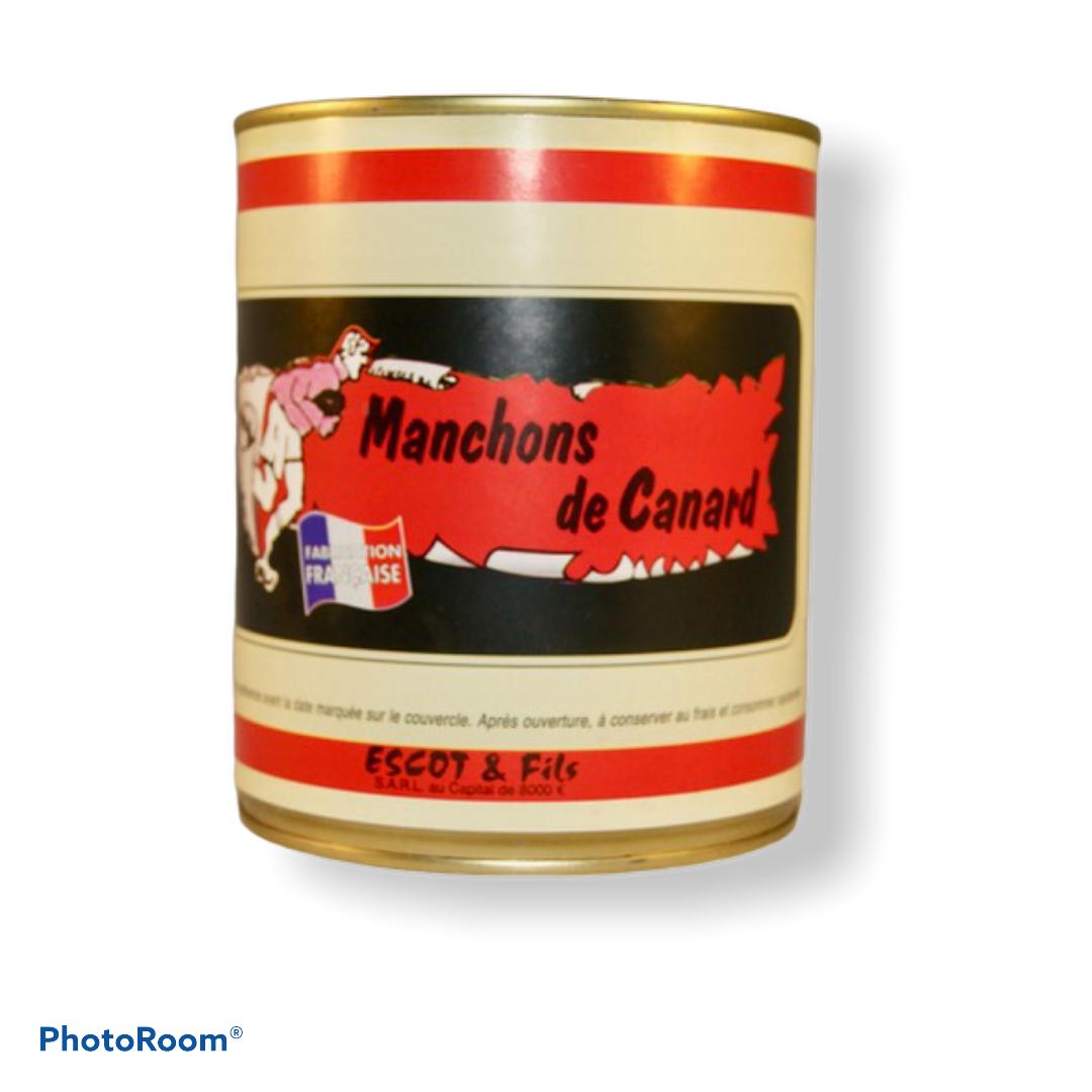 MANCHONS DE CANARD CONFITS