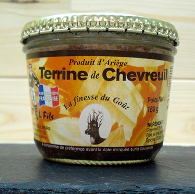 Idée d'entrée pour l'automne : terrine de chevreuil